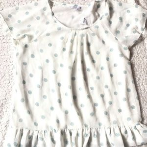 GAP Tops - Gap short sleeve blouse NEW